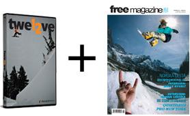 "FREE MAGAZINE #84 + DVD ""twel2ve"""